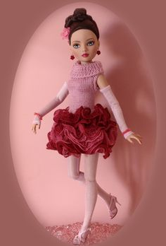 Knitted dress for Ellowyne | Flickr - Photo Sharing!