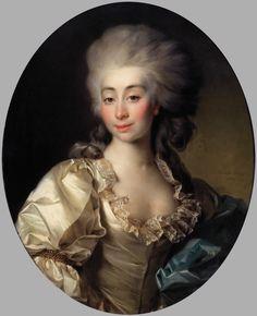 Portrait of Urszula Mniszech née Zamoyska by Dmitry Levitzky, 1782 (PD-art/old), Tretyakov Gallery, beloved niece of King Stanislaus Augustus portraited during her stay in Saint Petersburg