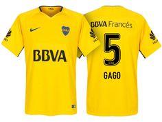 Boca Juniors Jersey fernando gago Away 17-18 Shirt