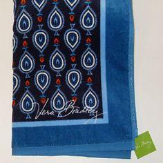 Vera Bradley Marrakesh motifs beach towel This is a brand new with tags Vera Bradley Marrakesh motifs towel. Vera Bradley Accessories
