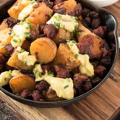 Chorizo potatoes are patatas bravas with a sausage twist. Serve it with home-made aioli and you have a what could be the best tapas dish you ever make.