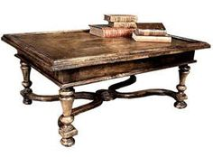 St Malo Coffee Table  Rustic  Folk, Traditional, Transitional, Wood, Coffee  Cocktail Table by Mike Bell, Inc  Westwater Patterson