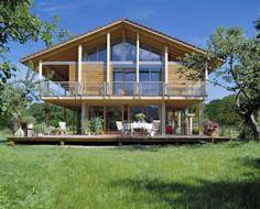 Außenansicht Schauer: moderne Häuser von Bau-Fritz GmbH & Co. KG