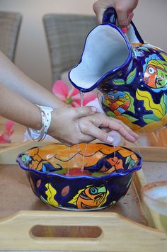 Hand Purification ritual at your check-in!! only at Villa del Palmar beach resort & spa at the Islands of Loreto