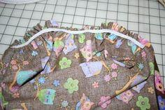 DIY moses basket bedding