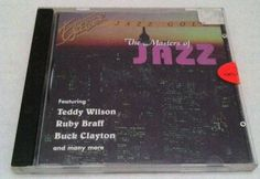 The Masters of Jazz  CD