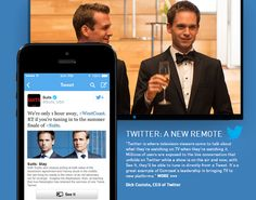 On Wednesday Twitter announced a partnership with Comcast which will allow users to tune into a TV show directly from a Tweet they see online. This feature, called See It, will give Comcast Xfinity TV customers in the US the ability to do several things in response to viewing a tweet, such as change the channel, set the DVR and play a show On Demand or add it to the On Demand queue. They could also use the feature to tune in and watch the show online or on their mobile devices.