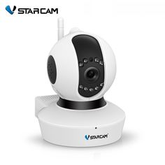 56.99$  Buy here - http://ai13b.worlditems.win/all/product.php?id=32799732606 - VStarcam C23S full HD 1080P IP Camera Wifi Camera Surveillance Camera SD 64GB Wireless P2P IP camara P/T Built in Microphone