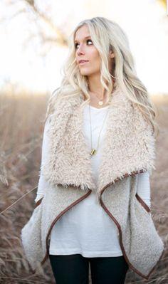 Plush Fur Vest