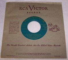 Roy Rogers 45 RPM Green Vinyl Yellow Rose of Texas On The Old Spanish Trail #CowboyCountryEarlyCountry