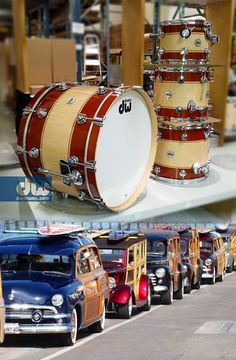 tobacco to Natural Rally Stripe! #dwdrums #thedrummerschoice