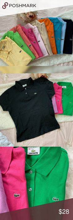 461b4899b5 Lacoste classic polo shirt Authentic Lacoste classic polo shirt 👚 in  different colors. All are