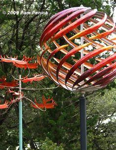 Garden Metal Wind Spinners | Metals, Gardens and Yard art