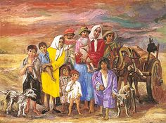 La marcha de los cosecheros - Antonio Berni