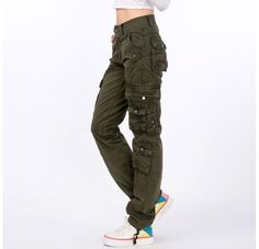 838af07aedf  2105 2016 Joggers women Hip hop women Cargo pants women Military Cotton  Straigth Loose baggy Camouflage women Pantalones mujer