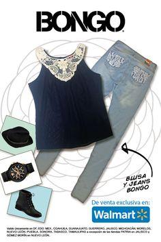 Blusa + Jeans = Bongo