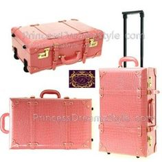 Japanese Luggage 20 Trolley Business Suitcase Set DA23 Pink Lady ...