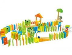 Frog rally domino Learning The Alphabet, Games, Design, Dominos, Frogs, Colorful, Rhythm Games, Race Tracks, Wooden Toys