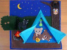 Activity Book: Camping Fun by craftygreenrabbit.wordpress.com, via Flickr