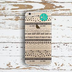 Personalized Iphone 6 case clear Aztec Iphone 6 by ToGildTheLily