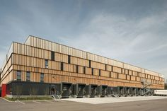Company building for Schachinger Logistics by Poppe Prehal Architekten