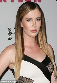 Ireland Baldwin looks dramatically different from make-up free display