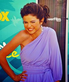 Selena Gomez!!!!!!!!!!!!!!!!!!!!!!!!!!!!!!!!!! love the color and the shoulder!