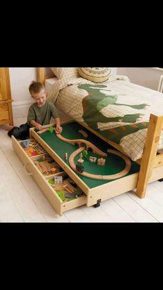 Kids bed NO MESS