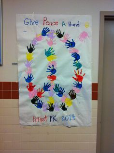 MLK day peace activity for pre-k