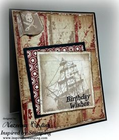 Created using Inspired by Stamping: Pirates