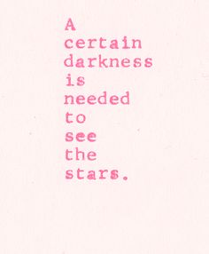 ✿♡a certain darkness is needed to see the light ♡✿