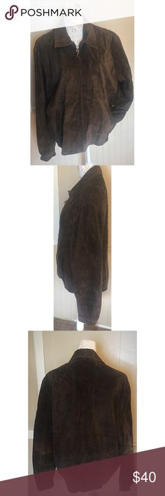Classic Suede Jacket A timeless piece! Tag says medium but it fits more like a large. American Classic Jackets & Coats
