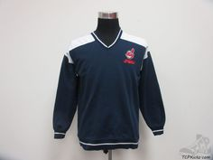 Vtg 90s Dynasty Cleveland Indians Crewneck Sweatshirt sz M Medium MLB AL SEWN #Dynasty #ClevelandIndians #tcpkickz