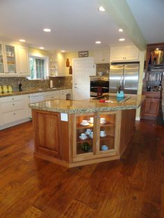 Chaparral Tack Room in this kitchen is so beautiful! recieved by Wyland Interior Design Center  Simply Better…Discover Why.  www.hallmarkfloors.com