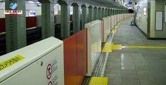 Japão encontra dificuldades na instalação de portas de segurança nos trens e no metrô.