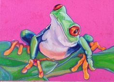 Curious Frog by Nancy Stark