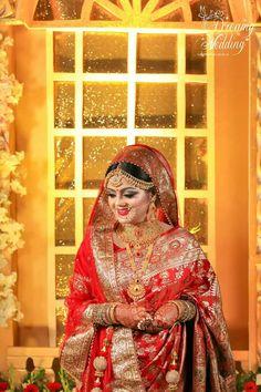 3d Wallpaper Home, Indian Wedding Makeup, Bridal Looks, Bridal Collection, Brides, Sari, Jewelry, Fashion, Saree