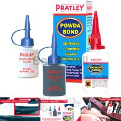 Bondo Epoxy Bumper Repair Syringe Kit