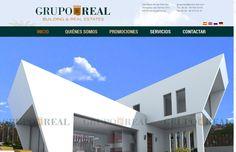 Hemos hecho un proyecto de web para Grupo Real: web, diseño de imagen corporativa. Visita nuestra: www.grupo-real.com/