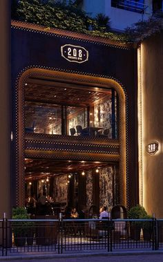 Autoban combined East and West influences for this jewel box of a restaurant, 208 Duecento Otto in Hong Kong.