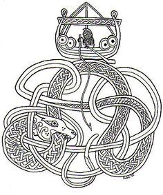 Jörmungandr, The Midgard Serpent.