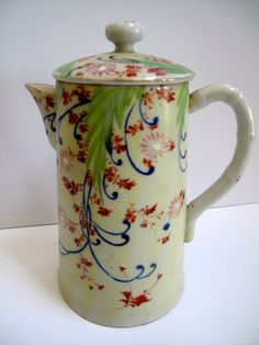 Vintage Tea Pot Mint Green by mimiyaya on Etsy, $18.00