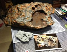 The 'Block Island' meteorite reproduced in plastic at NASA's Jet Propulsion Laboratory.  Scientists have taken in step in that direction by creating an amazing replica of a Martian meteorite using a 3D printer.  Credit: NASA/JPL-Caltech
