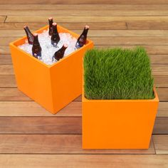 cube table-planter  | CB2
