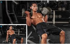Want bigger BICEPS? Use these 5 power biceps exercises to add massive size and definition to your arms. Best Exercise For Biceps, Best Biceps, Biceps Workout, Gym Workouts, Biceps Curl, Workout Men, Get Bigger Arms, How To Get Bigger, Bicep Muscle