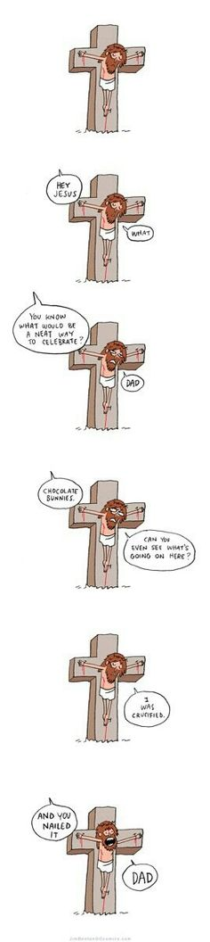 Because religion is laughable. Funny atheist/secular/religious memes, jokes, parody and satirical humour. Ultimate Dad Jokes, Funny Memes, Hilarious, It's Funny, Funniest Memes, Daily Funny, Funny Shit, Funny Comic Strips, Christian Humor