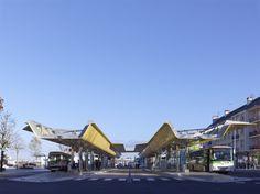 Multimodal Interchange of Saint-Nazaire by TETRARC Architects I Like Architecture