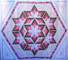 Diamond Log Cabin Star Quilt Pattern | eBay