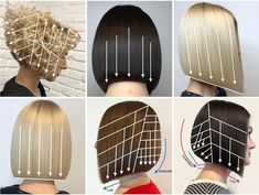 We've said it before, and we'll say it again. ➡ Permission to go shear crazy, granted. Diy Beauty Makeup, Hair Beauty, Hair Cut Guide, Haircut For Face Shape, Home Hair Salons, Haircut Tip, Hair Stations, Hair Cutting Techniques, Cool Hair Color