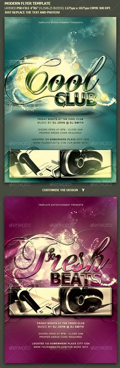 Modern Flyer Template Flyer template, Print templates and Font logo - contemporary flyer